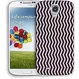 Snoogg oscuro y tiras de color de la luz Funda Carcasa de diseño para Samsung Galaxy S4i9500