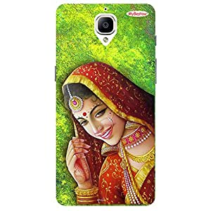Bride - Mobile Back Case Cover For One Plus 3