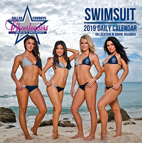 Turner Licensing 1 Dallas Cowboys Cheerleaders 2019 Box Desk Calendar (19998051472)