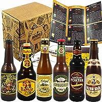 Découvrez les meilleures bières de France, Angleterre et Belgique : Barbar au miel / Tripel Karmeliet / Hopbuckler IPA / Cuvée des Trolls / Kwak / London Porter. Ce coffret est parfait pour tout amateur de bière qui se respecte. Il faut la part belle...
