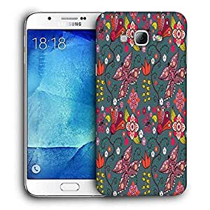Snoogg Multicolor Butterfly Printed Protective Phone Back Case Cover For Samsung Galaxy Note 5