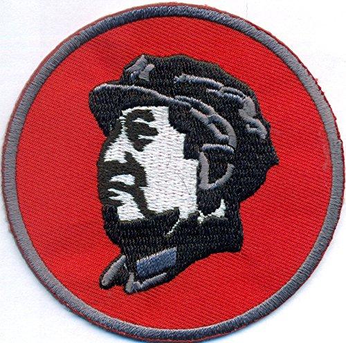 CHINA Mao Kommunismus Diktator Kopf Logo Punk Anarchy Biker Aufnäher Patch Abzeichen