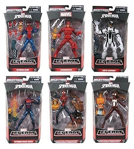 AMAZING SPIDER-MAN 2 MARVEL LEGENDS INFINITE SERIES DEADLIEST FOES ACTION FIGURE by Hasbro