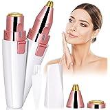Ögonbryn rakning, kastiny 2 i 1 ögonbryn trimmer för kvinnor smärtfri, elektrisk ansiktshårborttagning kvinnor ögonbryn bortt