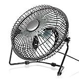 CSL - USB Ventilator 17cm | Tischventilator/Fan | Rotorblätter aus Kunststoff (Silent - Fan)