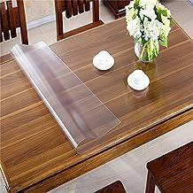 Ertex Transparent/Durchscihtig Tischfolie Schutzfolie Tischschutz Folie Tischdecke 2,5 mm B-WARE Lebensmittelecht (80 x 120 cm)