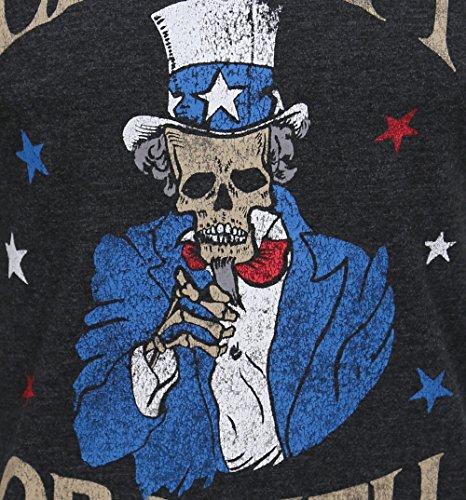Jack & Jones Herren Burn T-Shirt dark grey(003-LE)