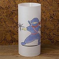 NINJA - Lampada giapponese fatta a mano