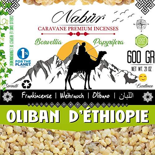 ⭐ Weihrauch aus Äthiopien 600 Gr  NABÜR  GRADE A  Oberkörner Handgebrannt  Hoher Gehalt an ätherisches Öl ❤️ Wohlbefinden im Eisen, Kognitive Gesundheit ❤️ Angebot