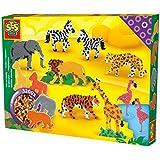 SES Creative - Cuentas para planchar de zoo, multicolor (06116)