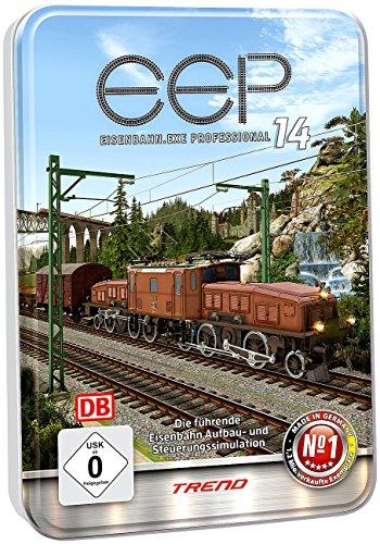 EEP Eisenbahn EXE: Eisenbahn.exe EEP 14 expert (in Metall-Relief-Box) (Eisenbahnsimulationen PC Softwares)