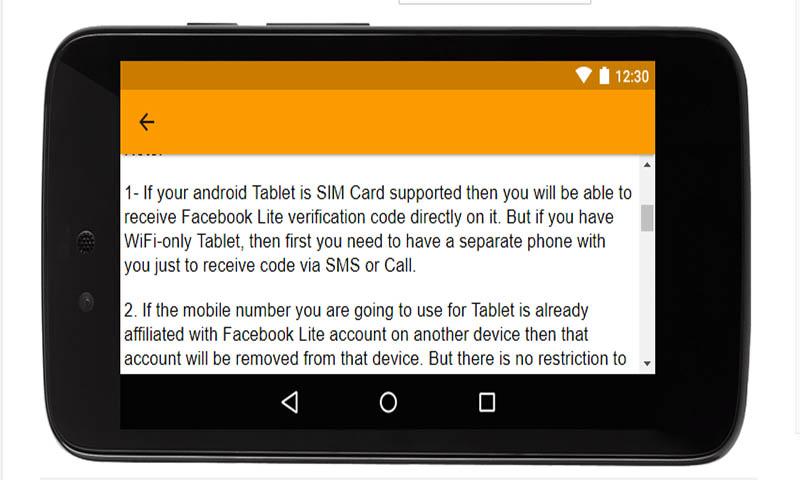 Download App for Facebook Lite - 4