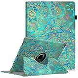 Fintie Hülle für iPad Pro 12.9-360 Grad Rotierend Stand Cover Case Schutzhülle Tasche mit Auto Schlaf/Wach Funktion für iPad Pro 12.9 2. Generation 2017/1. Generation 2015, Jade