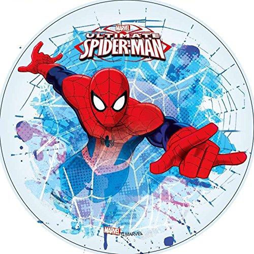 Fondant Tortenaufleger Tortenbild Geburtstag Spiderman T22