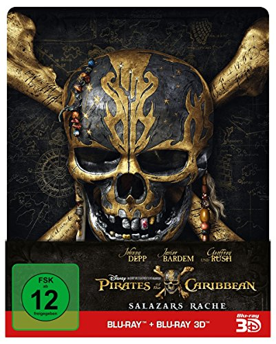Pirates of the Caribbean: Salazars Rache (2D+3D) – Steelbook Edition [3D Blu-ray]