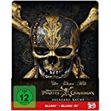 Pirates of the Caribbean: Salazars Rache (2D+3D) - Steelbook Edition