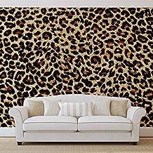 Leopard Forwall Fototapete Tapete Fotomural Mural Wandbild Wm