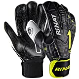 Rinat Asimetrik Etnik Ox Training Gant de Gardien de But Mixte Adulte, Noir/Oxford, FR Unique (Taille Fabricant : 7)