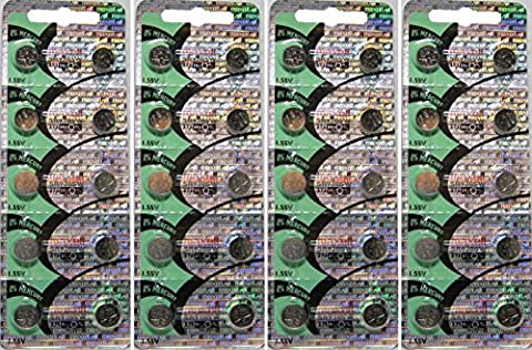 Maxell 371SR920SW 1.55V Cell pile bouton X 40