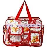 Bey Bee - Mama's Bag {Diaper Bag} (Red) - 18 Ltrs