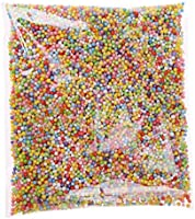 VWH Styrofoam Balls Slime Polystyrene Foam Coloured Spheres Filler Beads Decor For Floam Filler Arts Crafts Supplies (Multicolore)
