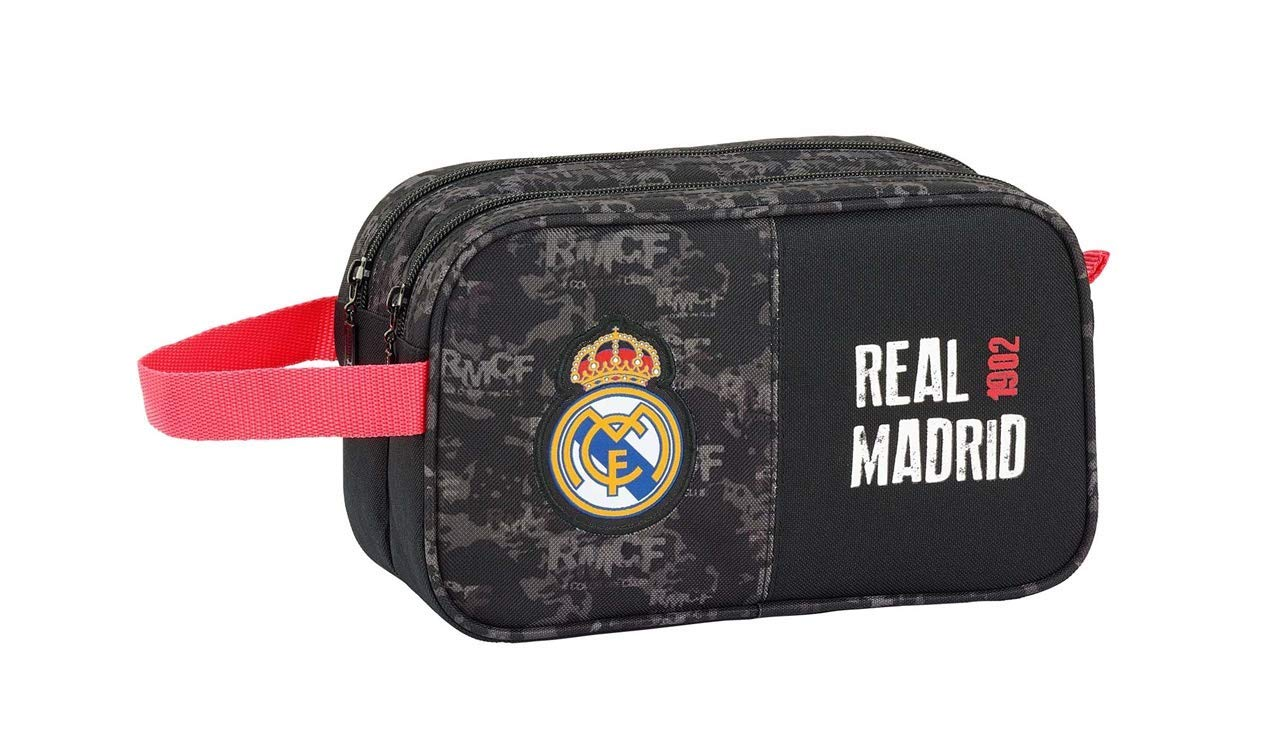 Real Madrid CF- Neceser, Color Negro (SAFTA 811924518)