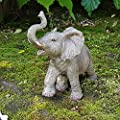 Deko Figur Elefant Afrika Dekoration Elefantenfigur Wildlife Animals Africa IM3800B von IMTAI auf Du und dein Garten