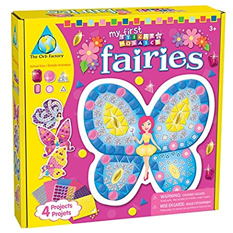 Orb Factory 620704 - My First Sticky Mosaics Fairies