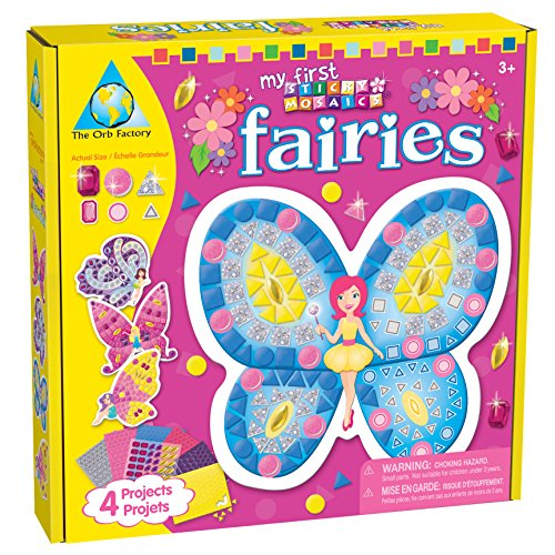 Sticky Mosaics My First Sticky Mosaics Fairies Craft Kit