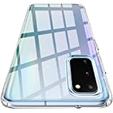 Spigen Liquid Crystal Kompatibel mit Samsung Galaxy S20 Hülle, Transparent TPU Silikon Weiche Handyhülle Schutzhülle Case Crystal Clear ACS01139