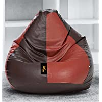 VSK XXL Bean Bag Cover Brown & Black (Without Beans)