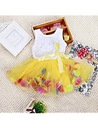 ESHOO bebé niña Pageant) cumpleaños, bodas y fiestas de flor de tul vestido de princesa