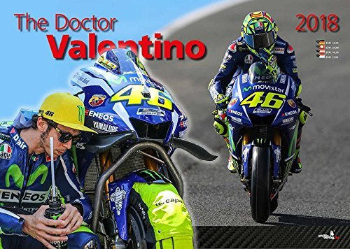 Preisvergleich Produktbild The Doctor Valentino (Valentino Rossi Kalender 2018)