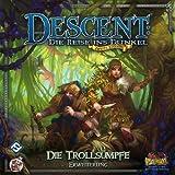 Asmodee HEI0604 - Descent 2 Edition: Die Trollsümpfe, Erweiterung, Brettspiel