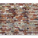 murando - Fototapete Steinoptik 400x280 cm - Vlies Tapete - Moderne Wanddeko - Design Tapete - Wandtapete - Wand Dekoration - Steintapete Steine Stein Mauer Steinoptik 3D f-A-0569-a-a