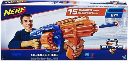 Nerf – Nerf Elite Surgefire et Flechettes Nerf Elite Officielles