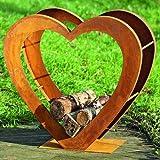 Regal für Holz Tobias H71cm Eisen