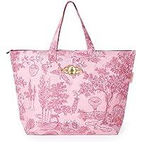 PiP Studio Strandtasche Hide and Seek Pink Blumen Tiere Strand Urlaub Beach Bag