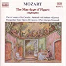 Mozart: Marriage Of Figaro (The) (Highlights)