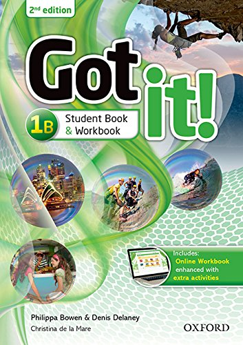 Got It! Plus (2nd Edition) 1. Student's Pack B (Got It Second Edition)