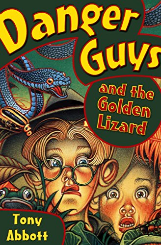Danger Guys and the Golden Lizard (English Edition)