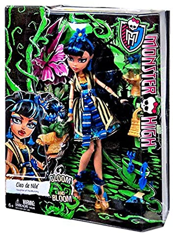 Monster High Gloom and Bloom Cleo De Nile 10.5