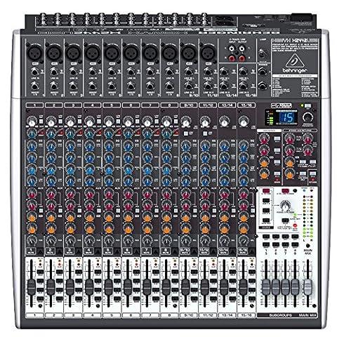 Behringer X2442USB Xenyx Table de mixage 24 canaux 4/2 Bus avec Interface audio USB