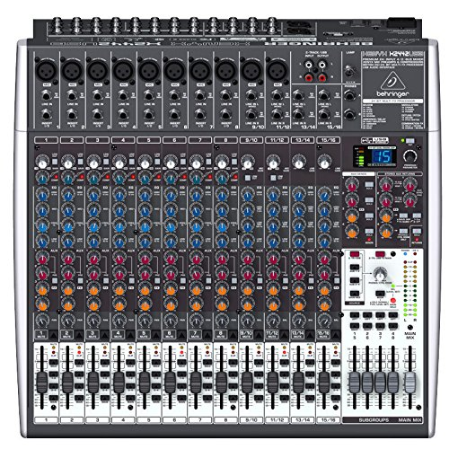 Behringer XENYX X2442USB Premium 24-Input 4/2-Bus Mixer with XENYX Mic Preamps & Compressors  available at amazon for Rs.55999