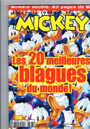 Le Journal De Mickey N° 2636/2637 : Les 20 Meilleurs Blagues Du Monde