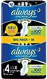 Always Ultra Secure Night Binden (Größe 4) Mit Flügeln 16 Stück