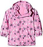 Sterntaler Kinder Mädchen gefütterte Regenjacke, 3in1 Multifunktionsjacke, Alter: 3-4 Jahre, Größe: 98, Pink