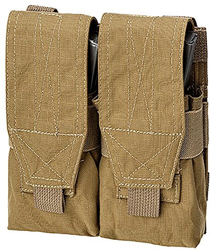 DEFCON 5 Holster Double M4+AK Pouch Magazintasche Coyote Tan