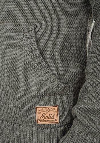 SOLID Paras - Pull en Maille- Homme Grey Melange (8236)