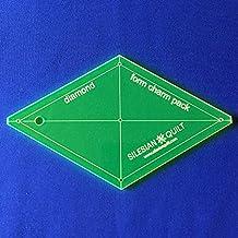 Plantilla para patchwork Diamante 5 pulgadas